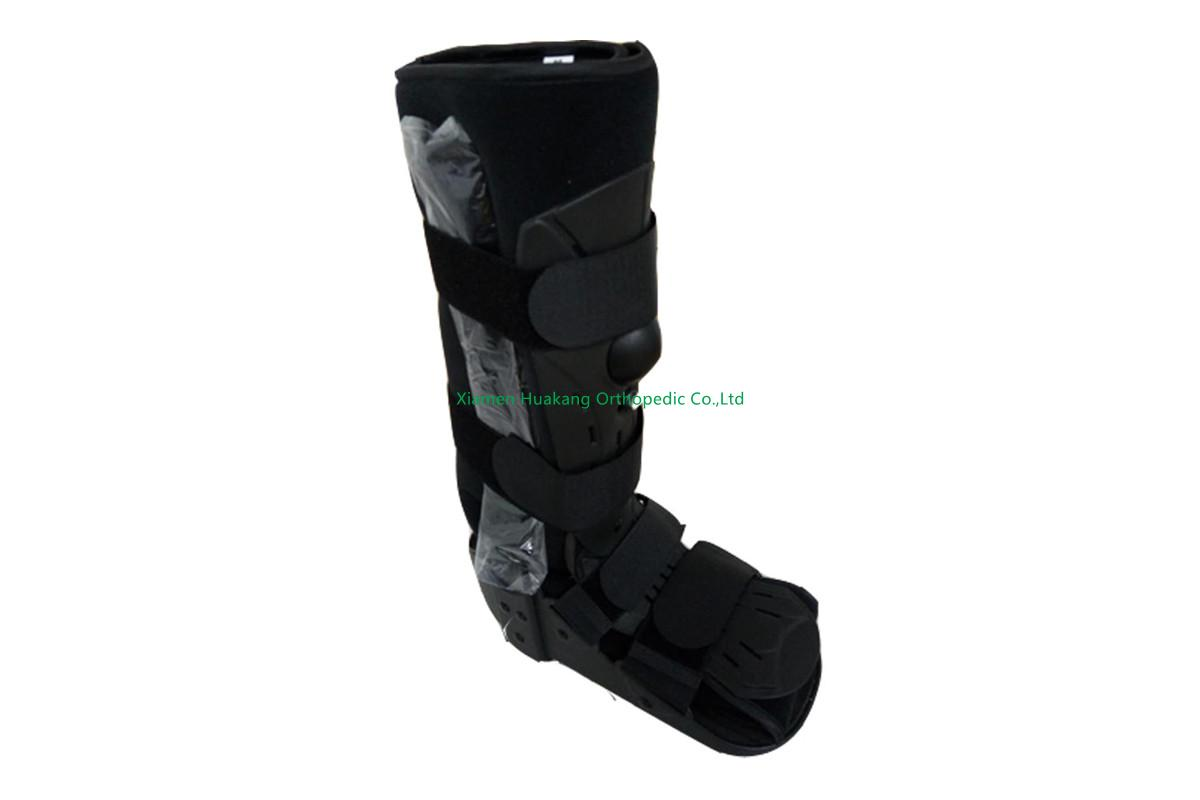 inflatable foot walking boot braces